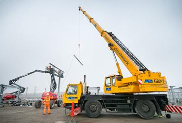 35 tonne Grove GMK 2035