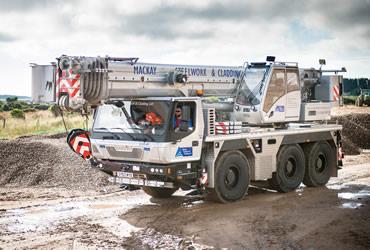 80 tonne Terex AC80-2 crane